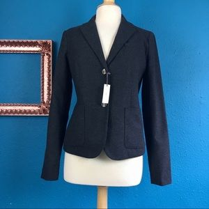 NWT Gap Academy Blazer wool blend size 8